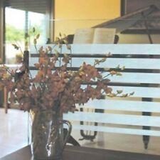 Streifen Fensterfolie lchglasfolie Blickdicht Sichtschutzfolie Statisch 200cm