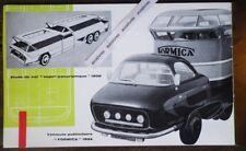 Rare ESTHETIQUE INDUSTRIELLE PH CHARBONNEAUX Automobile Design Delahaye Teleavia