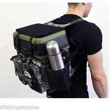 CARP SEA FISHING CAMO HARNESS RUCKSACK CONVERTER FOR ALL SEAT BOX TACKLE BOXES