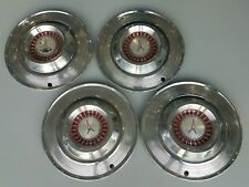 (1) 1964 64 PLYMOUTH SATELLITE FURY WHEEL HUB CAP MOPAR OEM