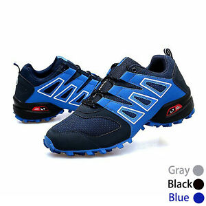 Men's Cycling Shoes MTB Non-locking Bike Shoes Race Sneakers Hiking Shoes Sports