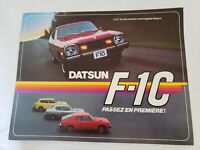 DATSUN NISSAN F10 CAR ADVERTISING CAR DEALERSHIP BROCHURE VINTAGE CLASSIC CARS