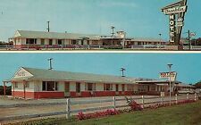 Franklin Motel in Marshalltown IA Postcard