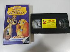 LA DAMA Y EL VAGABUNDO LOS CLASICOS DE WALT DISNEY VHS TAPE CINTA COLECCIONISTA