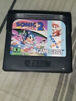 Sonic the Hedgehog 2 (Sega Game Gear, 1992) Clean, Tested, Working Great! 😁