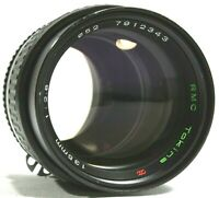 Nikon AI Mount RMC Tokina 135mm F2.8 Prime Lens UK Fast Post