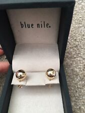 10mm Ball Stud Earrings from Blue Nile 14ct Yellow Gold