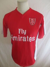 Maillot de football vintage ARSENAL N°8 NASRI réplica Rouge Taille S