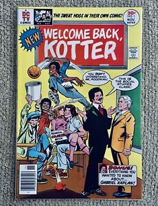 WELCOME BACK KOTTER #1, (Nov 1976), DC, Based on the ABC TV Series, NM, 9.0-9.2