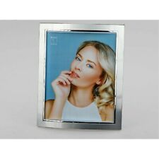 Cadre Photo Style Pour 20x25cm Argent Mat+Brillant Métal FORMANO