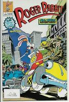 Roger Rabbit #1 first issue 9.8 n/m white pages