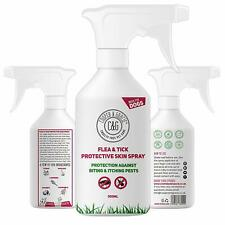 FLEA & TICK SPRAY FOR DOGS BEST ORGANIC NATURAL PEST PROTECTION ADDED 500ML
