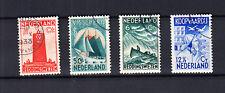 Nederland 257 - 260 de Zeemanszegels van 1933 gestempeld