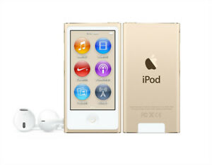 Latest Model Apple iPod Nano 8th Generation Gold (16GB) MP3 Player - Sealed