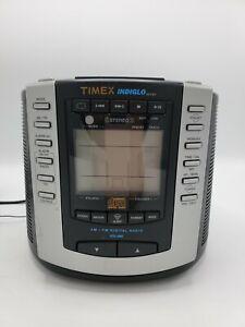 Timex T600B Indiglo Digital Alarm Clock AM/FM Radio CD Player Nature Sound