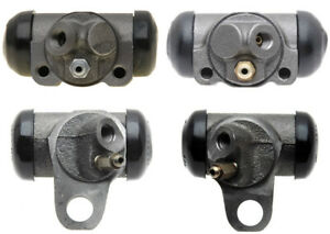 4 Drum Brake Wheel Cylinders Front + Rear L & R for Chevy GMC Pontiac