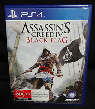 SONY PS4 GAME - ASSASSIN'S CREED IV BLACK FLAG - EXCELLENT CONDITION