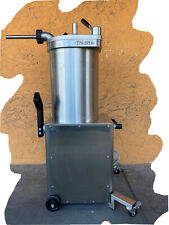 Talsa F35s65 Hydraulic 65 Lb Sausage Stuffer 220v 1 Phase Used About 10xs