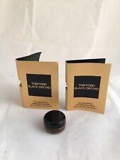 2 NEW Tom Ford Black Orchid Eau de Parfum Women Travel Size Sample Mini .05 oz