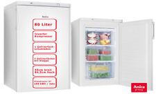 Amica Gefrierschrank 80 L 55cm breit Eisschrank Tiefkühler Kompakt Weiß 4*