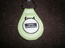 1967 1968 1969 1970 MERCURY COUGAR CAT EMBLEM PLAQUE KEYCHAIN NEW BRIGHT GREEN