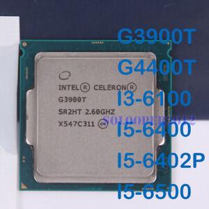 Intel Celeron G3900T Pentium G4400T Core i3-6100 i5-6400 6402P 6500 LGA1151 CPU