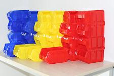 38x Profi Sichtlagerbox Größe 3 1a-Qualität Sichtlagerkasten Stapelbox Sichtbox