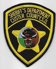 Custer County Sheriff State South Dakota SD