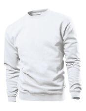 Felpe da uomo bianche taglia XL