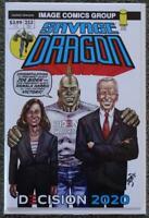President JOE BIDEN & Vice KAMALA HARRIS Comic Book ~ Savage Dragon # 253 NM