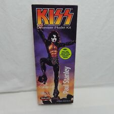 KISS PAUL STANLEY DESTROYER MODEL BOX & INSTRUCTIONS & DIORAMA BACK DROP ONLY