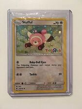 "POKEMON STUFFUL HOLO 2017 EXCLUSIVE TOYS""R""US TCG PROMO CARD 110/147 SEALED-NEW"