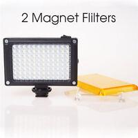 112 LED Video Light Hot Shoe Lamp Photo Studio Lighting for Canon Nikon Camera