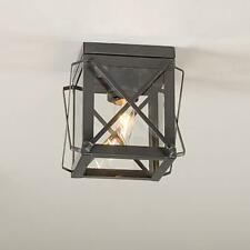 Primitive new Country tin single folded bar ceiling light / nice