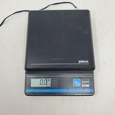 Pelouze Pe5 Black Digital Postage Scale Tested Works Uses 9 Volt Battery 5lbs
