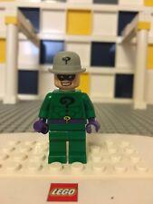 Lego RIDDLER Minifigure Super Heroes Batman Joker Funhouse 6857 marvel A5