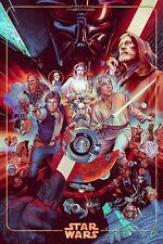 Star Wars (Foil Variant) - Martin Ansin - Mondo SDCC Print - Edition of 325