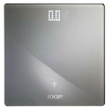JOOP! Lifestyle Personenwaage Digital LED Anzeige Bad Accessoires silber grau