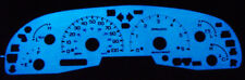 Usa 99-03 Ford F150 / Expedition Blue Glow Gauges Face Overlay 00 01 02