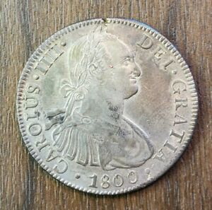 Colonial Mexico 1800 Fm 8 Reales
