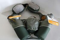 Nathan Human Pro Hydration Belt, With new bottles & 3 Zippered Pouches