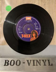 "T Rex / Marc Bolan - I Love To Boogie - Marc14 (1976) 7"" Vinyl Single Ex Con"