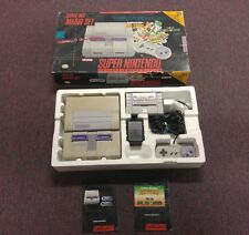 Super Nintendo Mario Set Super Mario All Stars+Super Mario World ..  VERY RARE!!