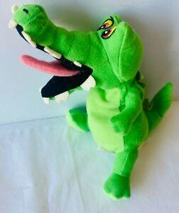 TICK TOCK Peter Pan Crocodile Small Plush Soft Beanie Toy Doll Walt Disney 20cm