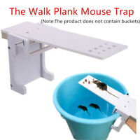 Walk The Plank Rodent Mouse Rat Trap Auto Reset Mice Catcher Tool New