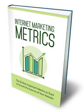 Internet Marketing Metrics (ebook-pdf plr file) Can be sold