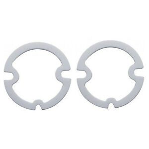 62 Chevy Impala Bel Air Biscayne Tail Light Lamp Lenses Foam Gaskets Pair 1962