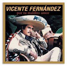 Vicente Fern ndez - De Pelicula: Por Tu Maldito Amor [New CD]
