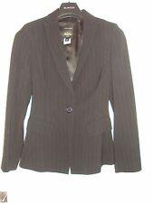 Whistle Pinstripe Black Suit Size 10