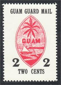 Guam Guard Mail Local Post 1980 50th Anniversary of Stamps 02 Cents Repro of M4